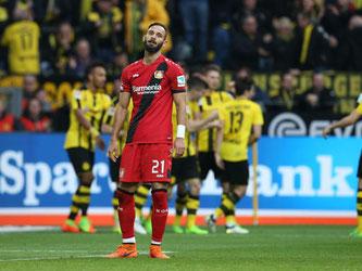 Sechs Stück kassierte Leverkusen in Dortmund. Foto: Friso Gentsch