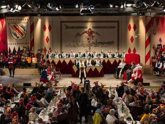Das Narrengericht in Stockach. Foto: Patrick Seeger/Archiv