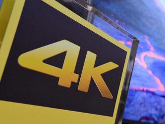 Monitore mit 4K-Auflösung (3840 zu 2160 Pixel) bringen mehr Platz für eine detailliertere Darstellung mit. Sie stellen den angeschlossenen Computer aber auch vor neue Herausforderungen. Foto: Andrea Warnecke