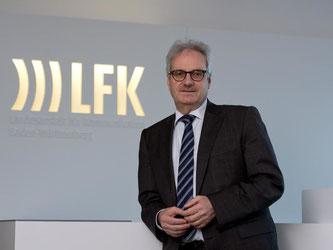 Präsident der Landesanstalt für Kommunikation (LFK), Thomas Langheinrich. Foto: Marijan Murat/Archiv