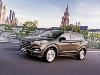 Schickes Design, viel Komfort und gute Fahreigenschaften: Damit überzeugt der neue Hyundai Tucson. Foto: Hyundai