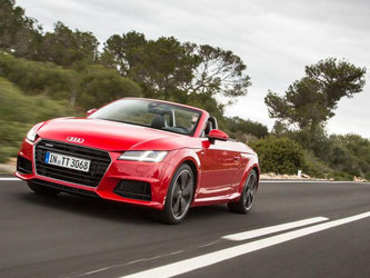 Modern, komfortabel, leistungsstark: So stellt sich der neue Audi TT Roadster vor. Foto: Audi
