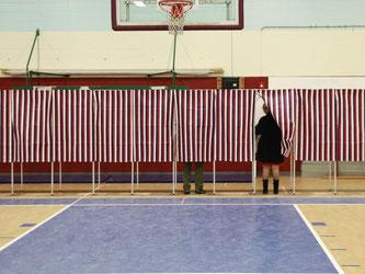 New Hampshire war der zweite US-Bundesstaat, in dem die Parteien ihre Kandidaten für das Rennen ums Weiße Haus wählen. Foto: Katherine Taylor