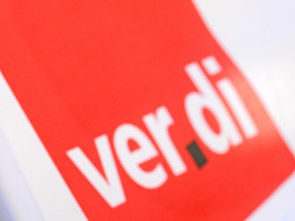 Verdi-Logo. Foto: Patrick Seeger/Archiv