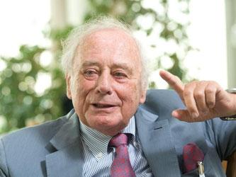 Reinhold Würth, der Gründer des Schraubenkonzerns Würth. Foto: Sebastian Kahnert/Archiv