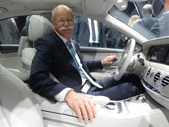 Dieter Zetsche wird Präsident des europäischen Autoherstellerverbands ACEA. Foto: M. Brandt/Archiv