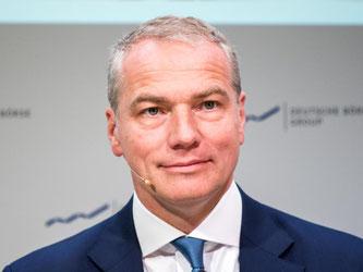 Deutsche-Börse-Chef Kengeter macht in Sachen Fusion mit der London Stock Exchange (LSE) Tempo. Foto: Alexander Heinl/Archiv