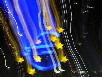 Die EZB hat entschieden den Leitzins von 0,05 auf 0,00 Prozent zu senken. Foto: Nicolas Armer