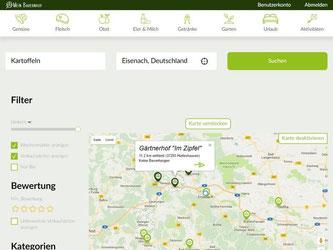 Wer nicht gerne im Supermarkt einkauft, sondern auf dem Bauernhof, kann im Internet nach einer Adresse in der Nähe suchen. Foto: www.mein-bauernhof.de