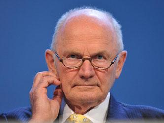 Der ehemalige Aufsichtsratsvorsitzende von VW Ferdinand Piëch. Foto: Andreas Gebert/Archiv