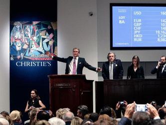Pablo Picassos Bild «Les femmes d'Alger (Version 'O')» wurde im Mai dieses Jahres bei Christie's in New York versteigert. Foto: Jason Szenes