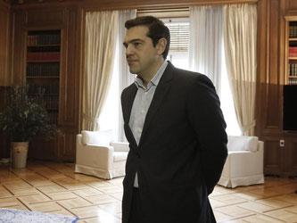 Noch hat Regierungschef Alexis Tsipras keinen Weg gefunden, die Finanzkrise seines Landes nachhaltig zu bekämpfen. Foto: Yannis Kolesidis