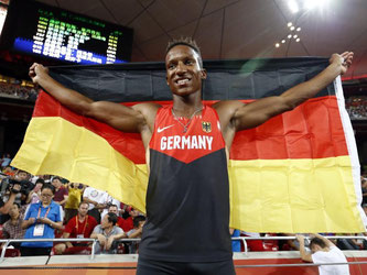 Raphael Holzdeppe konnte in Peking seinen Titel nicht verteidigen, holte aber die Silbermedaille. Foto: Rolex Dela Pena