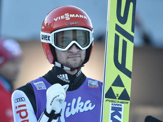 Markus Eisenbichler zeigte eine starke Leistung und beendete das Neujahrsspringen auf dem vierten Platz. Foto: Angelika Warmuth
