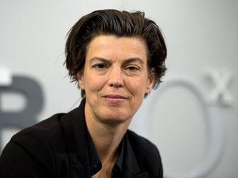 Carolin Emcke erhält den Friedenspreis des Deutschen Buchhandels. Foto: Arno Burgi