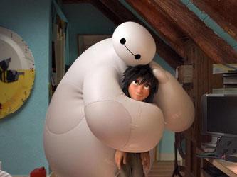 Baymax und Hiro locken in die Kinos. Foto: Disney