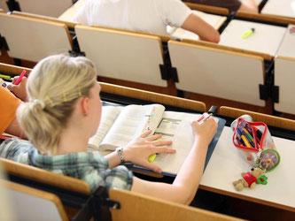 Langer Weg in den Hörsaal: Um studieren zu können, schaltet mancher einen Rechtsanwalt ein. Doch die Studienplatzklage ist kostspielig und kann dauern. Foto: Bodo Marks
