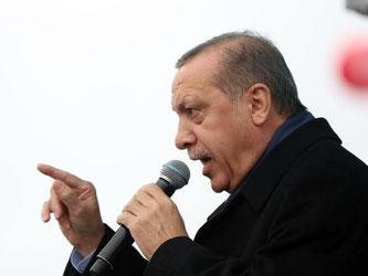 Präsident Recep Tayyip Erdogan bei einem Auftritt im türkischen Kocaeli. Foto: Depo Photos