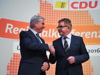 Die CDU zog positive Bilanz ihrer Regionalkonferenzen. Foto: Uwe Anspach/Archiv