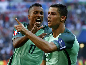 Auch dank der Tore von Cristiano Ronaldo hat Portugal das Achtelfinale sicher. Foto: Robert Ghement