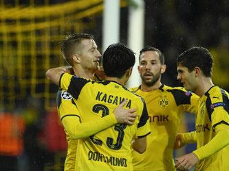 Borussia Dortmund schlägt Legia Warschau in einer turbulenten Partie mit 8:4. Foto: Bernd Thissen