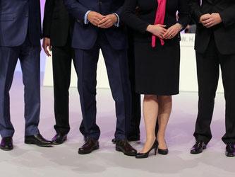 Maue Bilanz: Den höchsten Frauenanteil im Vorstand wiesen zuletzt die 30 Dax-Konzerne mit 11 Prozent aus. Foto: Oliver Berg/Symbol