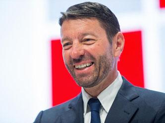Kasper Rorsted, hier im April bei der Henkel-Hauptversammlung, wird Chef bei Adidas. Foto: Rolf Vennenbernd