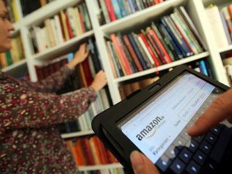 Die Äußerungen der Amazon Top-Managerin Sandeep Mathrani zu möglichen Buchläden sorgten für internationale Schlagzeilen. Foto: Oliver Berg
