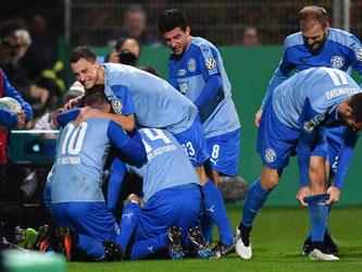 Astoria Walldorf steht nach dem Sieg über Darmstadt 98 überrschend im Achtelfinale. Foto: Uwe Anspach