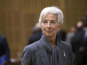 Lagarde warnte vor Grenzschließungen und einem Wiederaufleben des Protektionismus angesichts von Terrorismus und Krisen rund um den Globus. Foto: Etienne Laurent