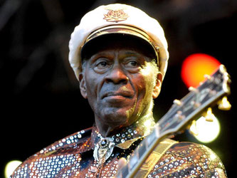 Chuck Berry ist tot. Foto: Britta Pedersen