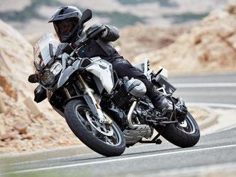 Nur leicht überarbeitete Reiseenduro: BMW R 1200 GS. Foto: BMW/dpa-tmn
