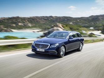 Mercedes hat einen neuen Kombi auf den Markt gebracht: Das T-Modell der E-Klasse. Foto: Daimler AG