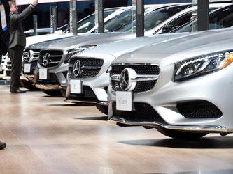 Die Stammmarke Mercedes-Benz hatte in den ersten drei Monaten des Jahres 560 625 Autos verkauft - ein Plus von 16 Prozent. Foto: Uli Deck