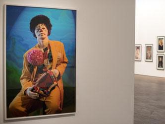 Arbeiten von Cindy Sherman im Me Collectors Room. Foto: Bernd von Jutrczenka