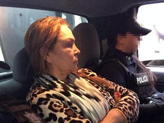 Guadalupe Fernandez Valencia soll sich um die Finanzen der «El Chapo»-Bande gekümmert haben. Foto: Mexican Federal Police