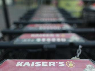 Mehrere Konzerne sind an Kaiser's-Filialen interessiert, darunter Rewe, Edeka, Tegut und Norma. Foto: Oliver Berg