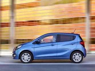 Nicht schön, aber praktisch: Der Opel Karl ist kein Lifestyle-Auto. Er soll vielmehr sparsame Kleinwagen-Fahrer ansprechen. Foto: Opel