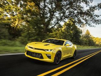 Er kommt wieder: Chevrolet wagt eine Neuauflage des Camaro. Foto: Chevrolet