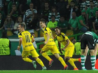 Borussia Dortmund besiegt Sporting Lissabon mit 2:1. Foto: Paulo Duarte
