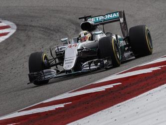 Lewis Hamilton holte beim Grand Prix der USA einen souveränen Start-Ziel-Sieg. Foto: Larry W. Smith