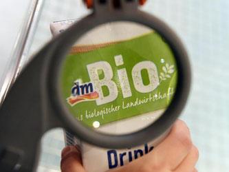 Ein dm-Bioprodukt. Foto: Daniel Naupold/Archiv