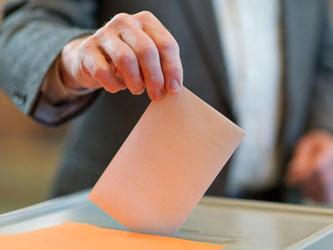 Der Ausgang der Wahl wird auch in Berlin mit Spannung verfolgt. Foto: Uwe Anspach
