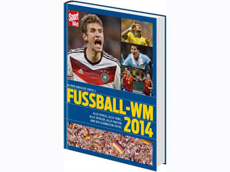Beliebtes Geschenk unterm Weihnachtsbaum: «SportBild Fußball-WM 2014». Foto: Hoffmann und Campe
