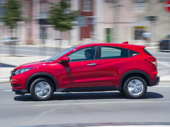 Neben seinem sportlichen Design will der HR-V mit viel Platz punkten. Foto: Honda