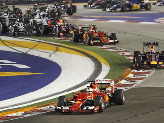 Sebastian Vettel hat den Grand Prix von Malaysia gewonnen. Foto: Rungroj Yongrit