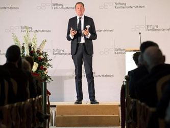 Laut Springer-Chef Mathias Döpfner übertreffen die «unfassbaren Chancen» der Digitalisierung die Risiken bei weitem. Foto: Tim Brakemeier