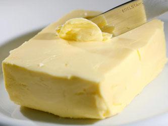 Nach Daten des GfK-Milchexperten Helmut Hübsch hat sich der Butterpreis binnen eines Jahres nahezu verdoppelt: Foto: David Ebener