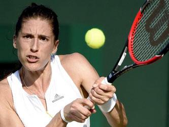 Andrea Petkovic hat es in Wimbledon in die dritte Runde geschafft. Foto: Facundo Arrizabalaga
