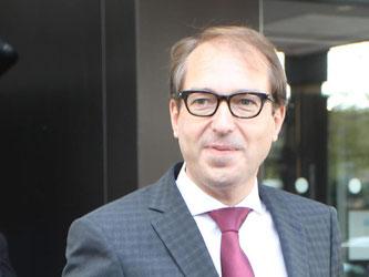 Bundesverkehrsminister Alexander Dobrindt. Foto: Sebastian Willnow/Archiv